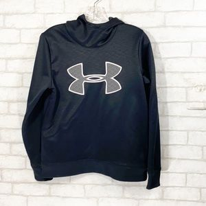 Under armour cold gear black hoodie size Small